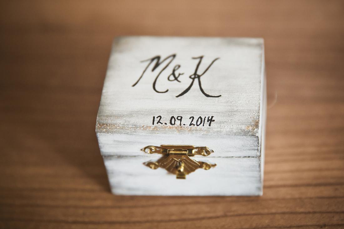 houten trouwringen doosje