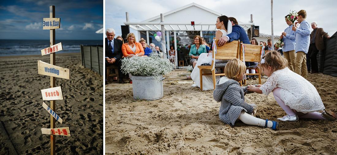 Strand Bruiloft Noordwijk