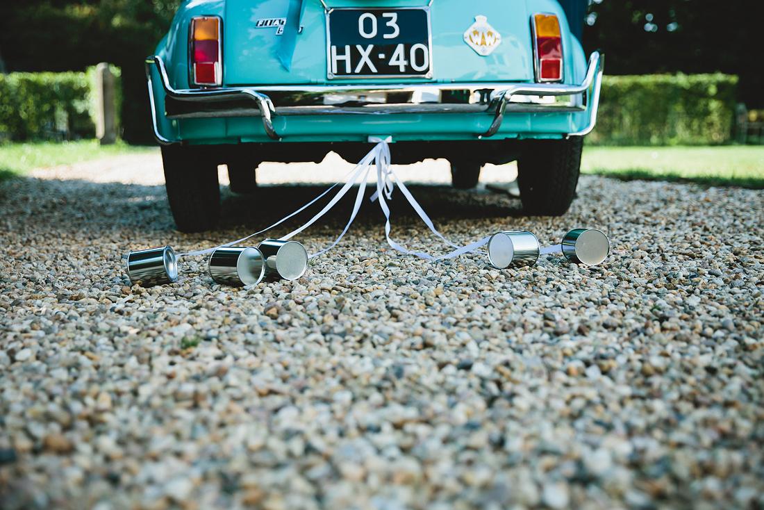 Trouwauto Fiat 500