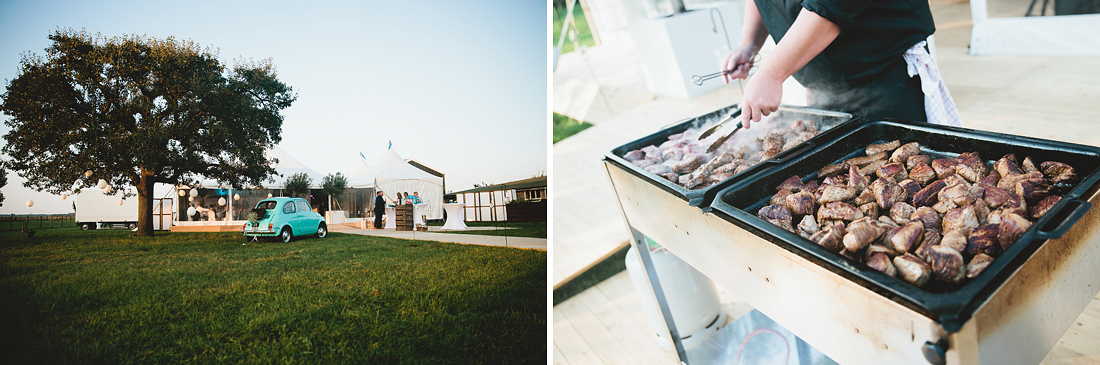 Barbecue Bruiloft
