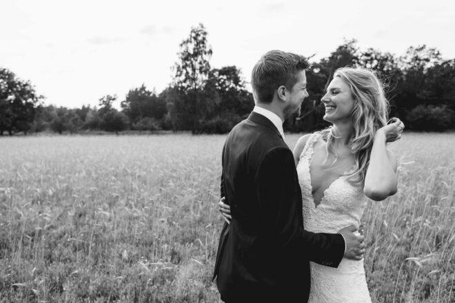 Trouwfotografie, bruid en bruidegom